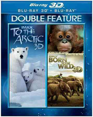 IMAX:TO THE ARTIC/BORN TO BE WILD 3D BY STREEP,MERYL (Blu-Ray)